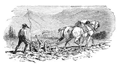 ist2_9176032-engraving-of-farmer-plowing-a-field